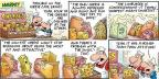 Comic Strip Bob Thaves Tom Thaves  Frank and Ernest 2013-02-10 grocery store
