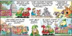 Comic Strip Bob Thaves Tom Thaves  Frank and Ernest 2013-08-25 capitol