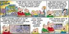 Comic Strip Bob Thaves Tom Thaves  Frank and Ernest 2014-01-05 war