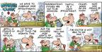 Comic Strip Bob Thaves Tom Thaves  Frank and Ernest 2014-01-12 physical