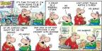 Comic Strip Bob Thaves Tom Thaves  Frank and Ernest 2014-04-20 first time