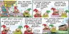 Comic Strip Bob Thaves Tom Thaves  Frank and Ernest 2014-05-11 gold