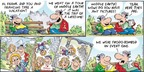 Comic Strip Bob Thaves Tom Thaves  Frank and Ernest 2014-07-20 vacation