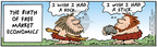 Comic Strip Bob Thaves Tom Thaves  Frank and Ernest 2005-08-18 stone age
