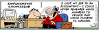 Comic Strip Bob Thaves Tom Thaves  Frank and Ernest 2005-09-22 financial counselor