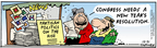 Comic Strip Bob Thaves Tom Thaves  Frank and Ernest 2005-12-31 partisanship