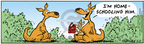 Comic Strip Bob Thaves Tom Thaves  Frank and Ernest 2006-01-11 kangaroo