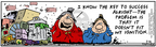 Comic Strip Bob Thaves Tom Thaves  Frank and Ernest 2006-02-16 initiative