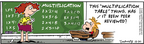 Comic Strip Bob Thaves Tom Thaves  Frank and Ernest 2006-12-30 math education