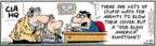Comic Strip Bob Thaves Tom Thaves  Frank and Ernest 2007-05-29 spy