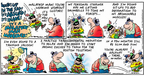 Comic Strip Bob Thaves Tom Thaves  Frank and Ernest 2007-11-11 relaxation