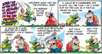 Comic Strip Bob Thaves Tom Thaves  Frank and Ernest 2008-02-03 gold