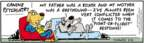 Comic Strip Bob Thaves Tom Thaves  Frank and Ernest 2008-02-21 greyhound