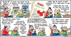 Comic Strip Bob Thaves Tom Thaves  Frank and Ernest 2008-08-03 Olympics
