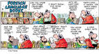 Comic Strip Bob Thaves Tom Thaves  Frank and Ernest 2002-07-07 foreign language