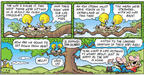 Comic Strip Bob Thaves Tom Thaves  Frank and Ernest 2003-05-04 yeah