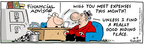 Comic Strip Bob Thaves Tom Thaves  Frank and Ernest 2006-06-09 financial planning