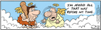 Comic Strip Bob Thaves Tom Thaves  Frank and Ernest 2006-06-10 stone age
