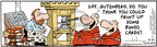 Comic Strip Bob Thaves Tom Thaves  Frank and Ernest 2006-06-21 print