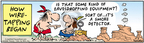 Comic Strip Bob Thaves Tom Thaves  Frank and Ernest 2006-07-03 spy