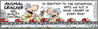 Comic Strip Bob Thaves Tom Thaves  Frank and Ernest 2006-10-12 expiration date