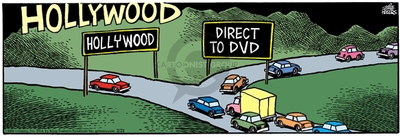 Hollywood.  Direct to DVD.