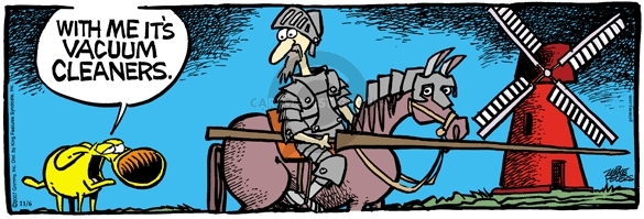Don Quijote as a Comic, Spanish Culture -