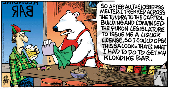 the tundra comic strips the comic strips
