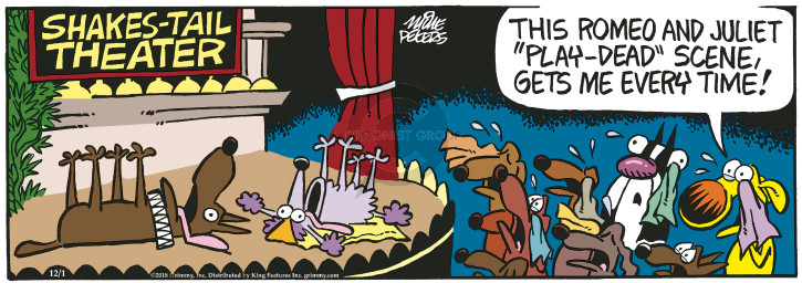 The Romeo And Juliet Comic Strips The Comic Strips