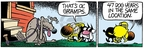 Comic Strip Mike Peters  Mother Goose and Grimm 2007-12-08 forty-seven