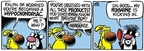 Comic Strip Mike Peters  Mother Goose and Grimm 2009-07-24 hair