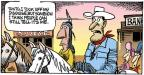 Comic Strip Mike Peters  Mother Goose and Grimm 2013-10-06 Lone Ranger
