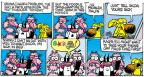 Comic Strip Mike Peters  Mother Goose and Grimm 2014-02-23 time off