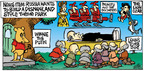 Comic Strip Mike Peters  Mother Goose and Grimm 2014-08-03 style
