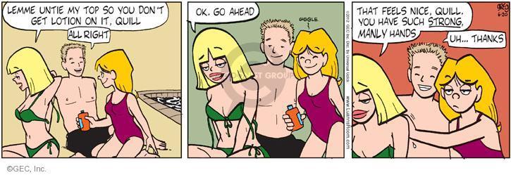 adult Luann comic