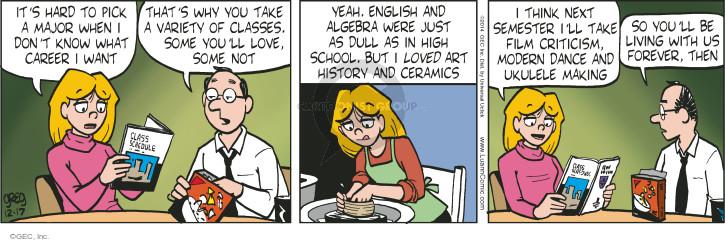 Algebra comic strip foto 981