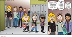 Comic Strip Greg Evans  Luann 2010-03-14 school clothes