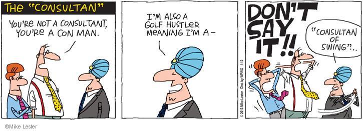 Hustler comic strip photo