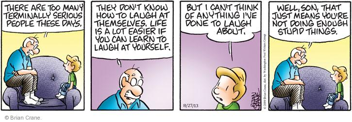 Pickle comic strip