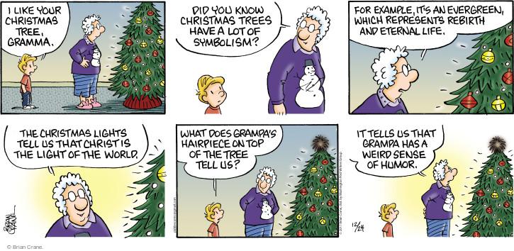 The Christmas Tree Comic Strips The Comic Strips