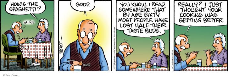 The Taste Bud Comic Strips The Comic Strips