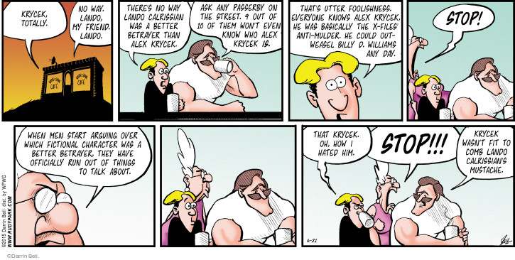 The Mustache Comb Comic Strips | The Comic Strips