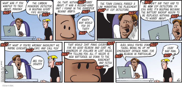 The 911 Comic Strips | The Comic Strips