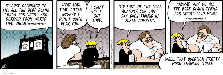 strip Idiot comic