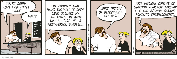 The Love Story Comic Strips | The Comic Strips