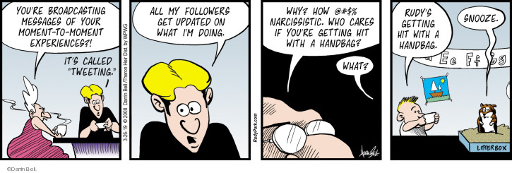 The Narcissism Comic Strips | The Comic Strips