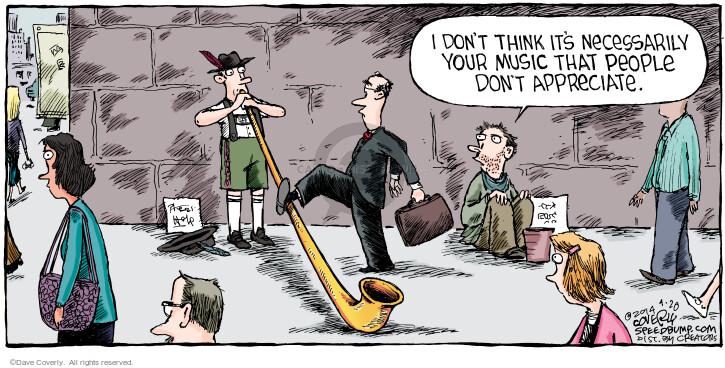 Instrument comic strip