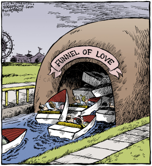 Funnel of Love. (This cartoon was originally published on 2011-03-10)