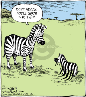 The Zebra Comic Strips | The Comic Strips