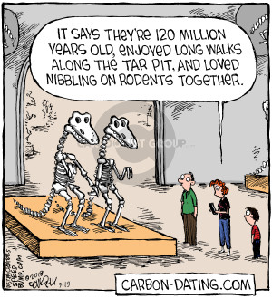 Carbon dating cartoon good